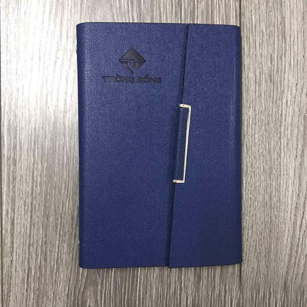 sổ da quà tặng in logo