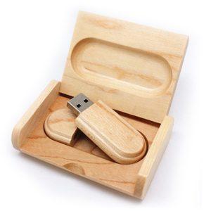 usb gỗ in khắc logo quà tặng